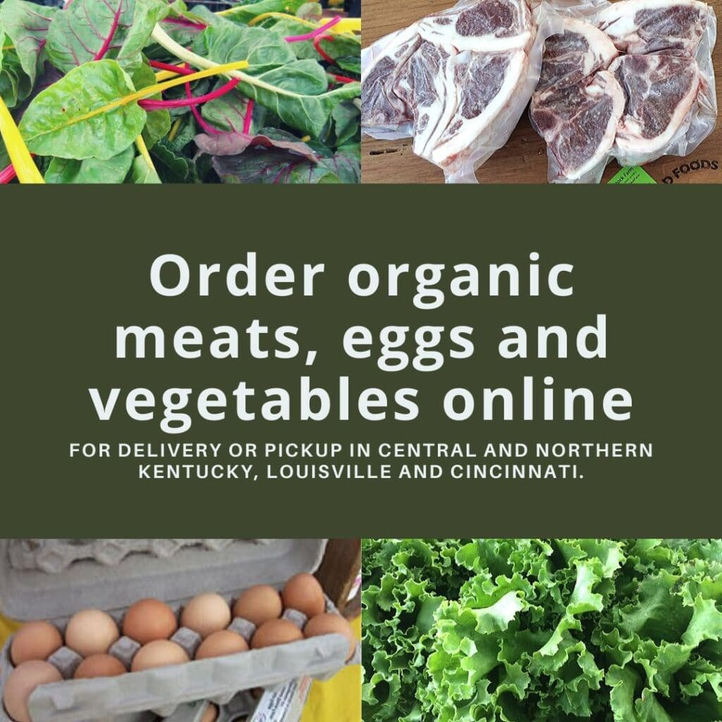 Order organic meats, eggs and vegetables online