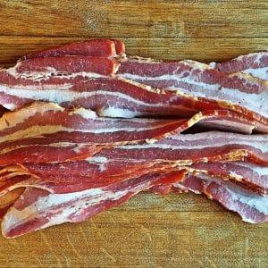 Pork, Seasoned Belly Bacon